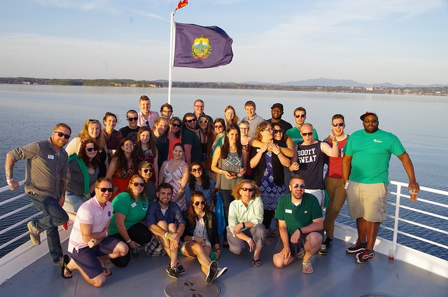 cruise on lake champlain with senior class of 2015