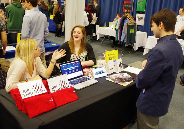 career fair champlain college
