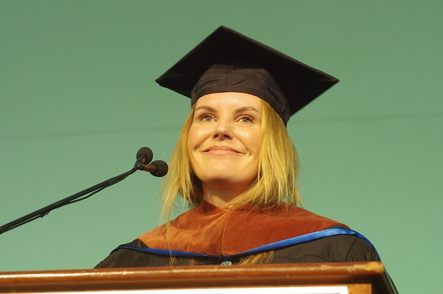 Grace Potter gives commencement address to Champlain College Class of 2016